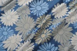 BLUE & WHITE FLORAL DOHAR