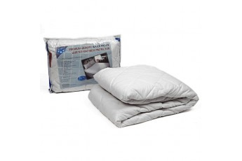 QUILTED WATERPROOF MATTRESS PROTECTOR WITH ELASTIC BAND