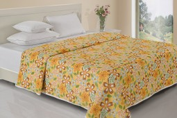 YELLOW & WHITE FLORAL DOHAR