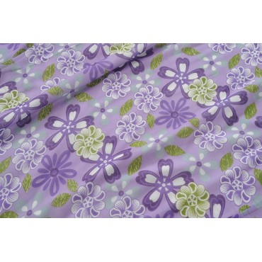 GREEN FLORAL DOHAR ( Temporary Out of Stock )