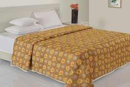 YELLOW FLORAL DOHAR