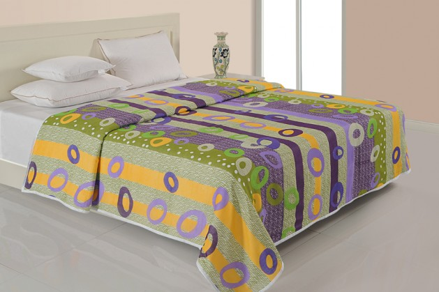 MULTI COLOR DOHAR GREEN CIRCLE ( Temporary Out of Stock )