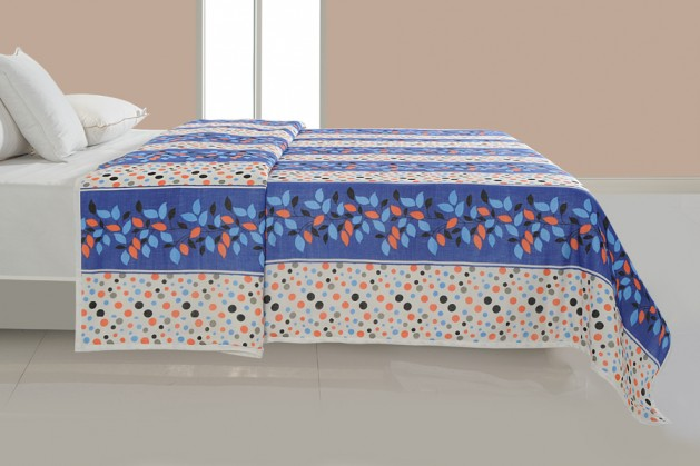 MULTI COLOR DOHAR BLUE FLORAL