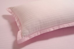 PINK 300 TC BED SHEET