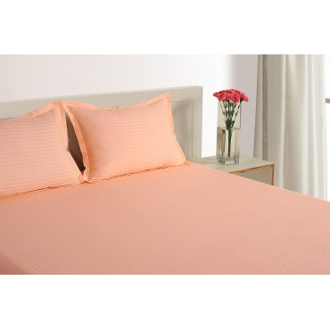 ORANGE 300 TC BED SHEET