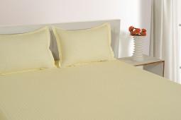 CREAMY 300 TC BED SHEET