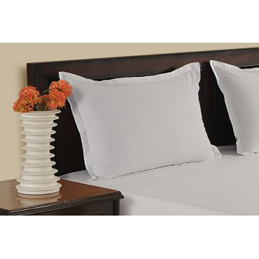 WHITE 300 TC PILLOW COVER