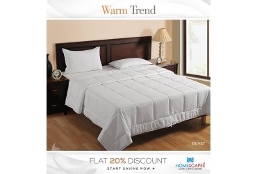 Attain Comforting Sound Sleep Experience with Goose Down Duvet